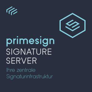 primesign SIGNATURE SERVER