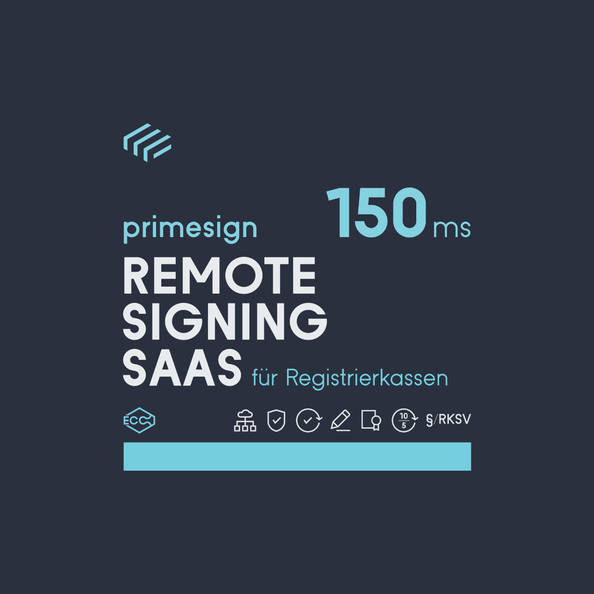 RKSV Remote Signing 150 ms mit 8-18 Support