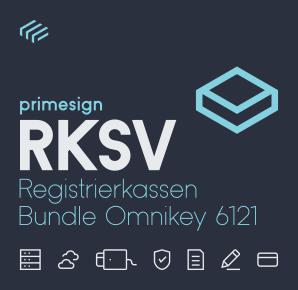 RKSV Registrierkassen Bundle Omnikey 6121